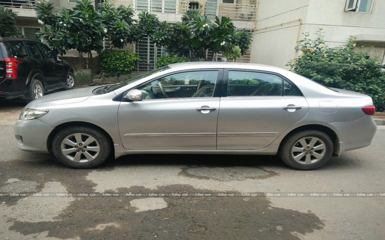 Used Toyota Corolla Altis 18 Gl In Faridabad 2008 Model India At Chrysler 200 Fuse Box Diagram2014 Left Side View