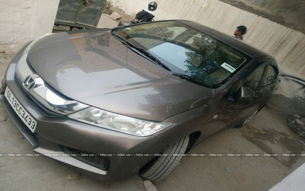 Used Honda City Sv Mt Diesel In South West Delhi 2014 Model India Front View Bikes Left Side Angle