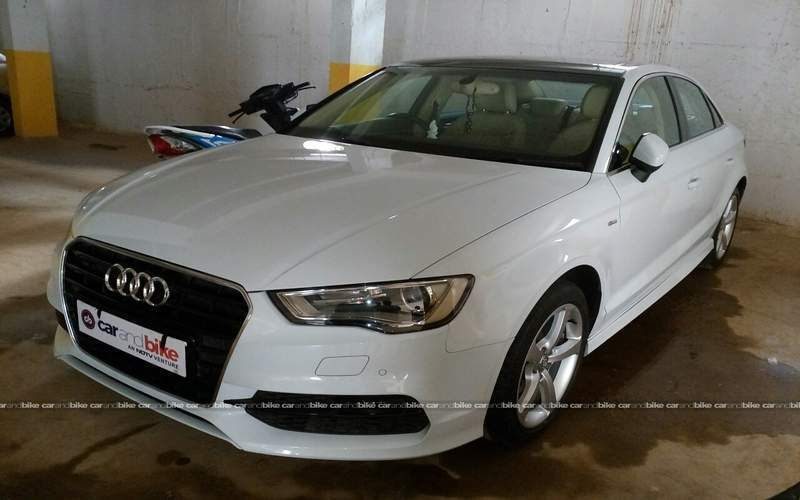 Audi A3 Front Left Side Angle View