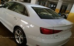 Audi A3 Rear Left Side Angle View