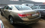 Honda Accord Rear Left Side Angle View