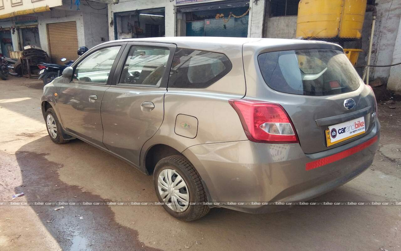 used datsun go plus t in hyderabad 2016 model, india at best price