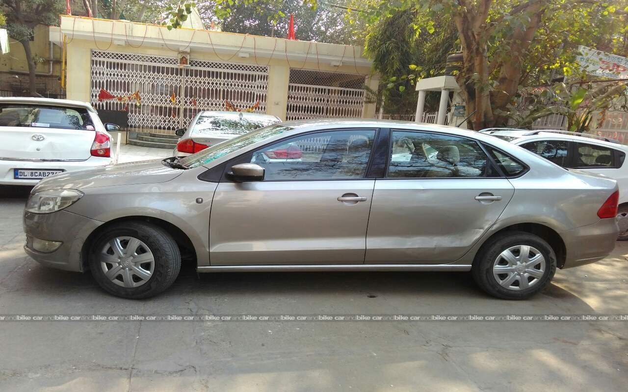 Used Skoda Rapid 1 6 Ambition Diesel Mt In West Delhi 2014 Model