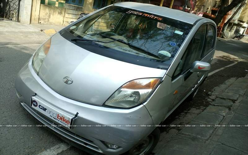 Tata Nano Front Left Side Angle View