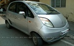 Tata Nano Front Right Side Angle View
