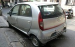 Tata Nano Rear Left Side Angle View