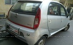 Tata Nano Rear Right Side Angle View