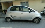 Tata Nano Right Side View