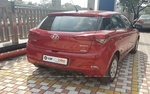 Hyundai Elite I20 Rear Right Side Angle View