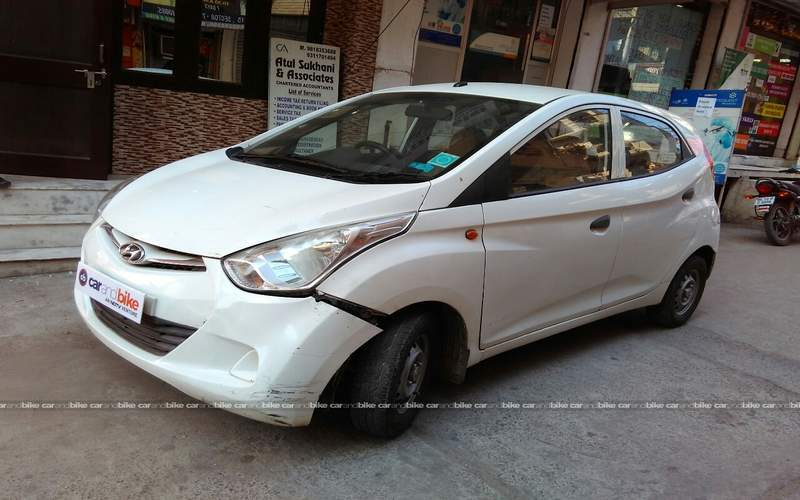 Hyundai Eon Front Left Side Angle View