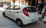Hyundai Eon Rear Left Side Angle View