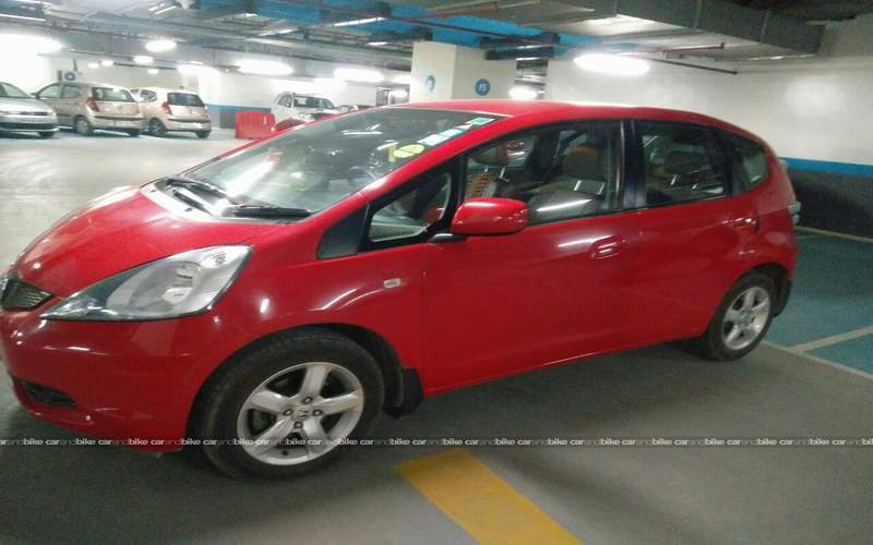 Honda Jazz Front Left Side Angle View