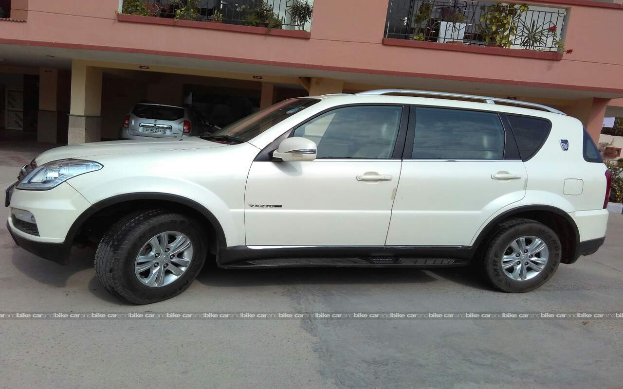 used ssangyong rexton w rx7 in gurgaon 2015 model india. Black Bedroom Furniture Sets. Home Design Ideas