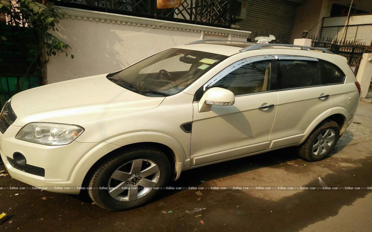 Used Chevrolet Captiva Ltz In South Delhi 2010 Model India