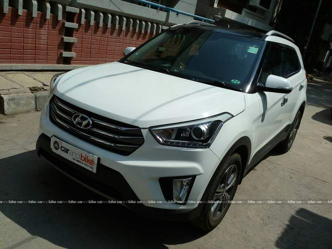 Hyundai Creta Front Left Side Angle View