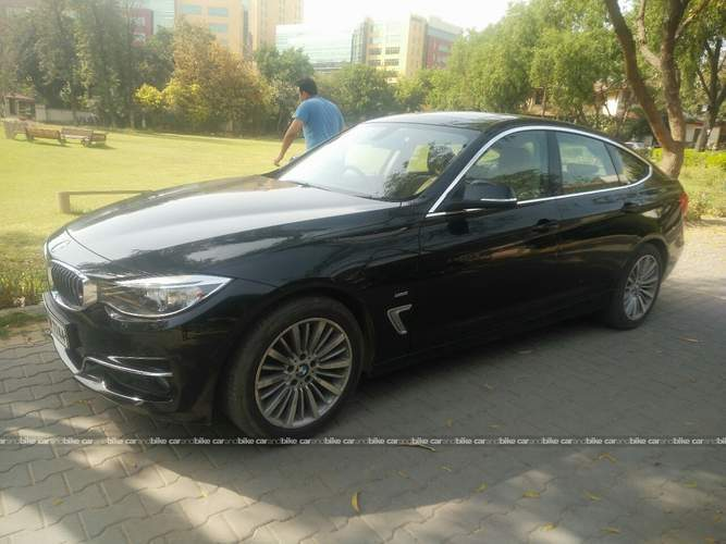 Bmw 3 Series Front Left Side Angle View