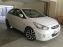 Hyundai Verna Front Right Side Angle View