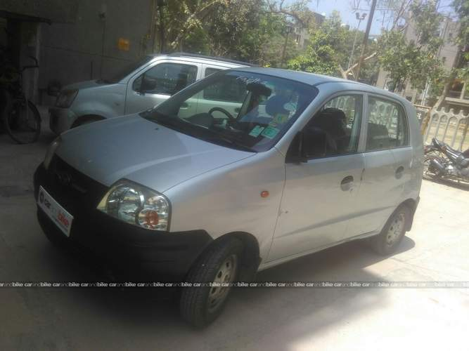 Hyundai Santro Xing Front Left Side Angle View