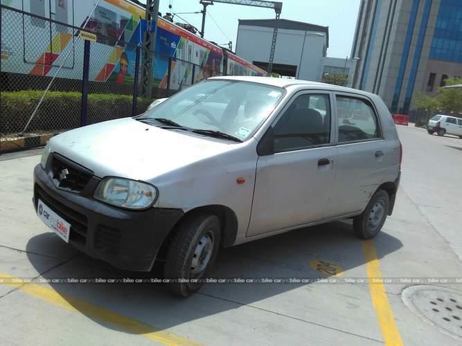 Maruti Suzuki Alto Front Left Side Angle View
