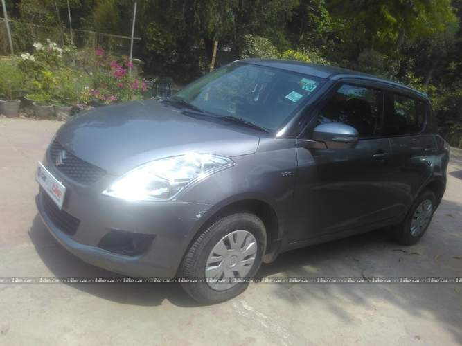 Maruti Suzuki Swift Front Left Side Angle View