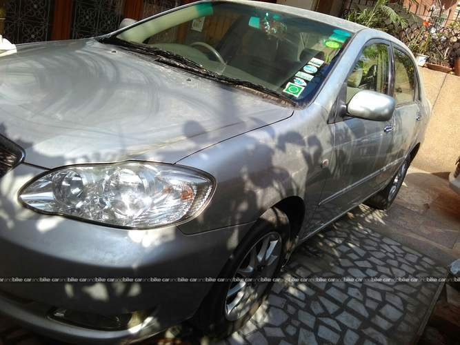 Toyota Corolla Front Left Side Angle View