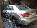 Toyota Corolla Rear Left Side Angle View