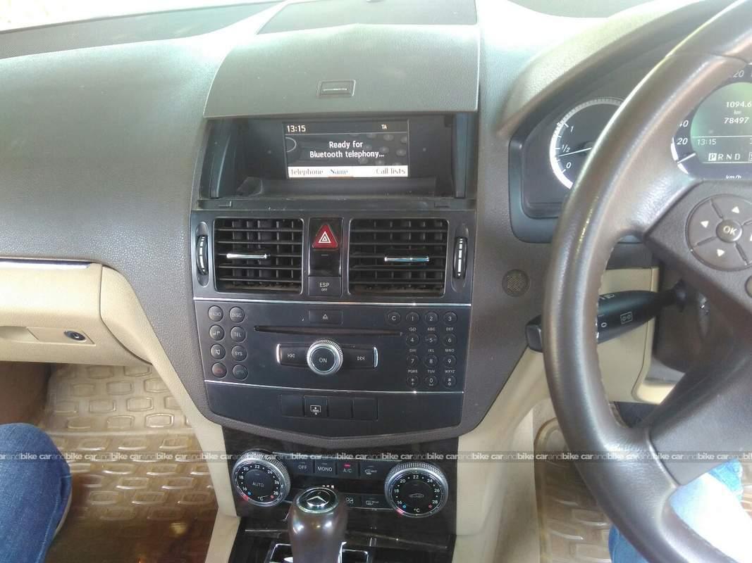 Used mercedes benz c class 200 kompressor in new delhi for Mercedes benz music system