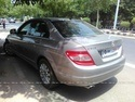 Mercedes Benz C Class Rear Left Side Angle View