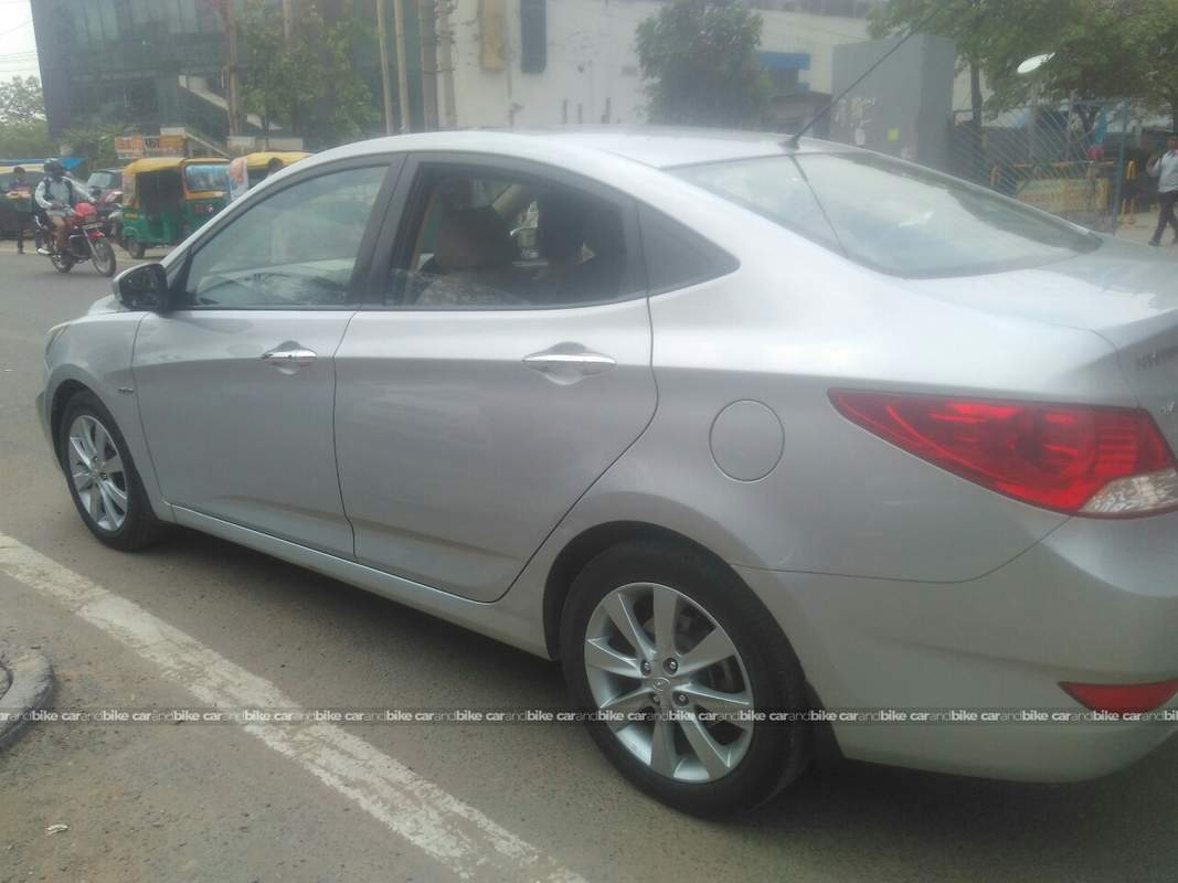 Used Hyundai Verna 16 Vtvt Sx 2010 In Gurgaon 2012 Model India Wiring Diagram Rear Left Side Angle View