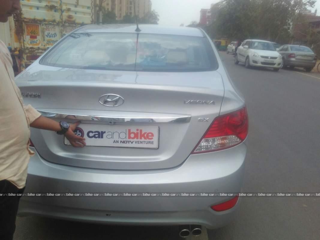 Used Hyundai Verna 16 Vtvt Sx 2010 In Gurgaon 2012 Model India Wiring Diagram Rear View