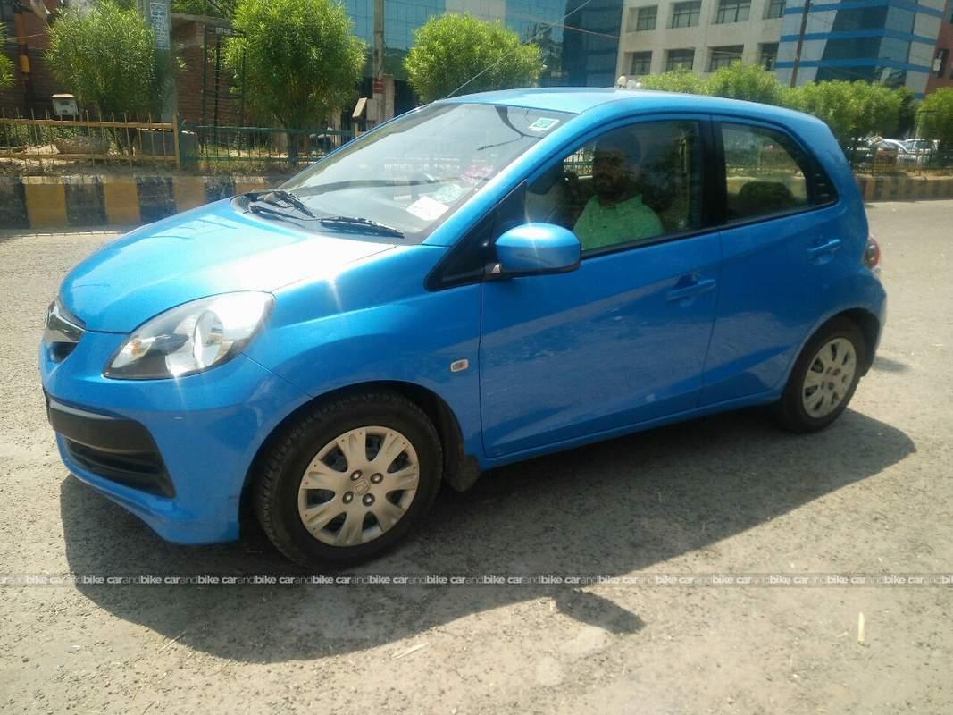 Used honda brio s mt petrol in noida 2012 model india at for Used certified honda