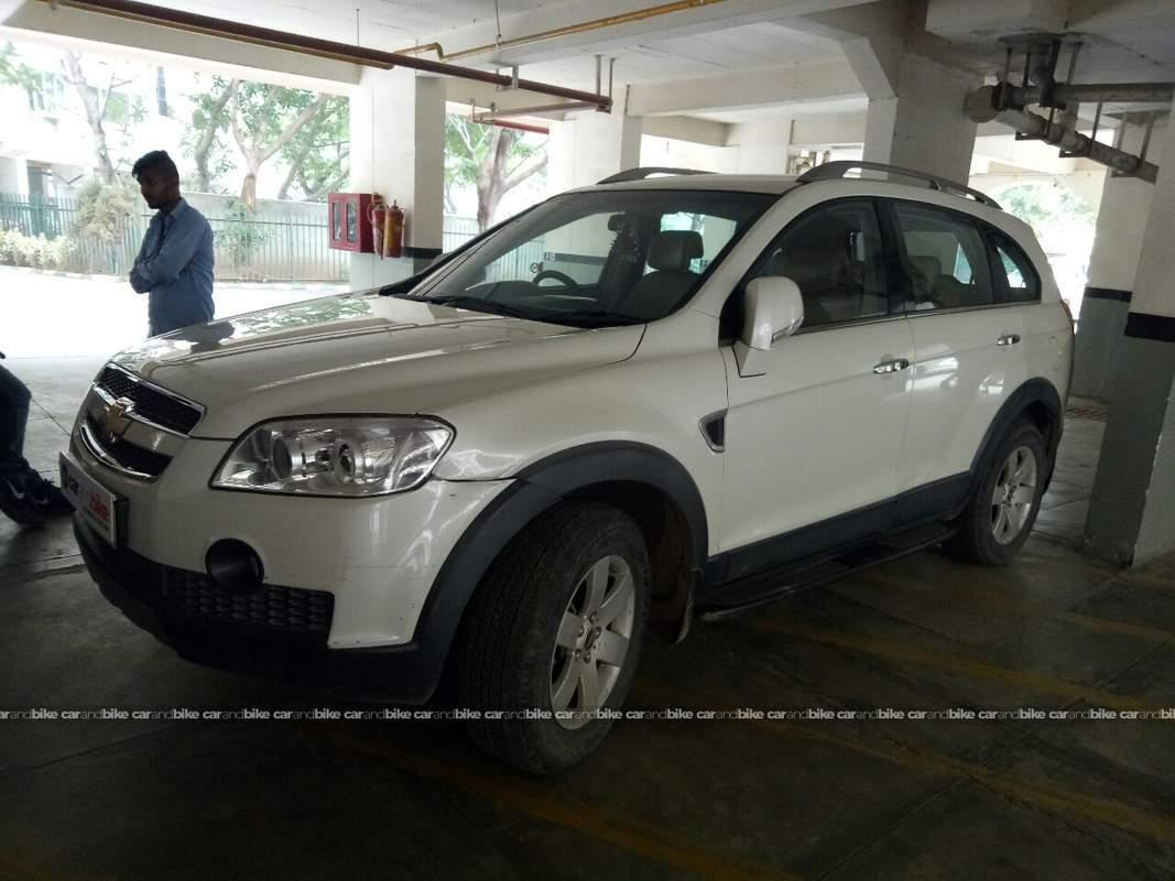 Used Chevrolet Captiva Lt In Gurgaon 2011 Model India At