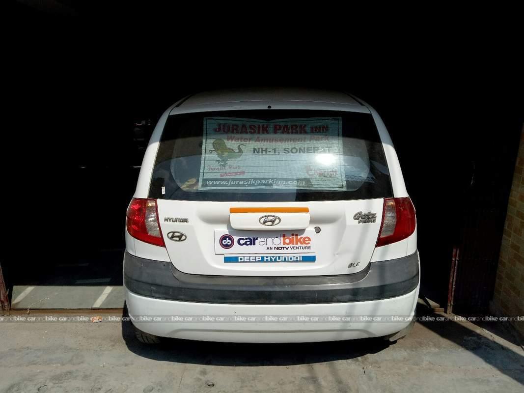 ... Hyundai Getz Prime Rear View ...