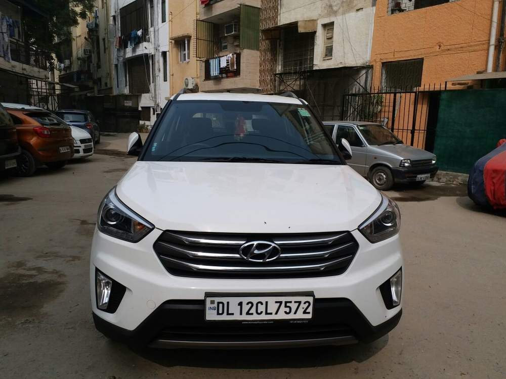 Used Hyundai Creta 1 6 Sx Plus Diesel At In New Delhi 2017 Model