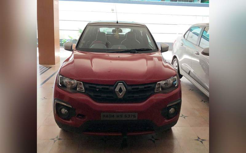 Used Renault Kwid Rxt 10 Amt Driver Airbag Option In Bangalore