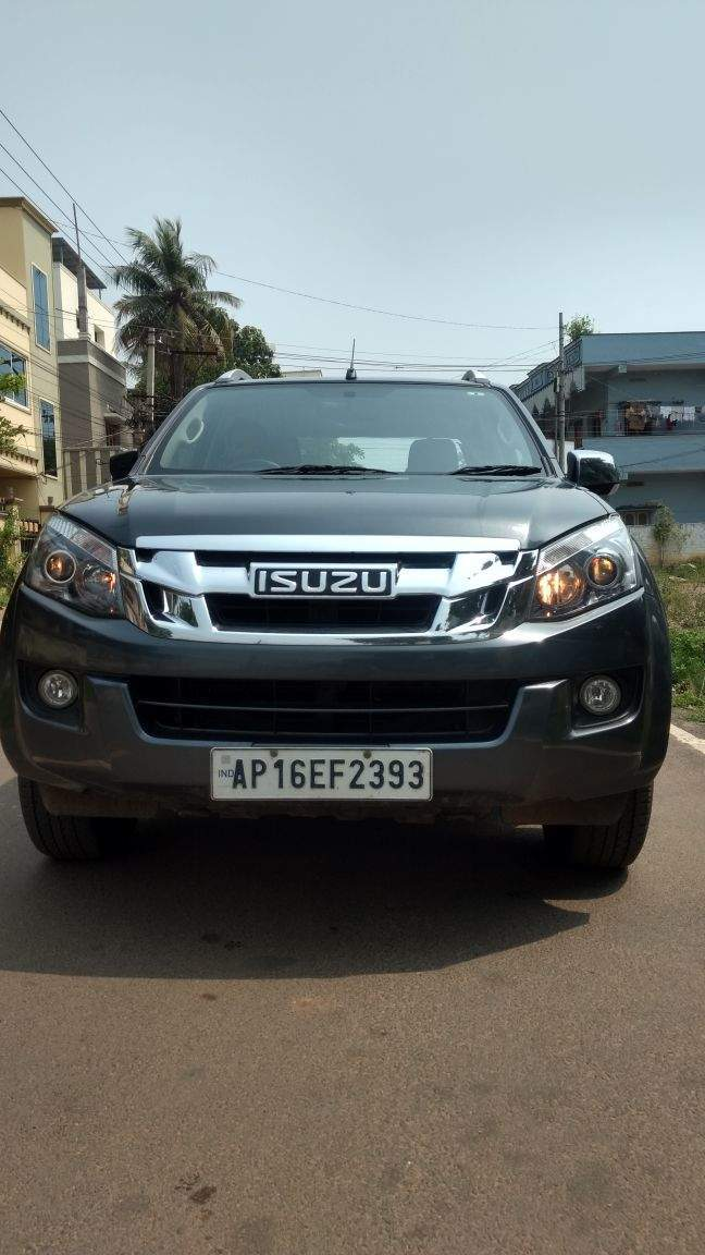used isuzu d max v cross std in hyderabad 2017 model, india at best
