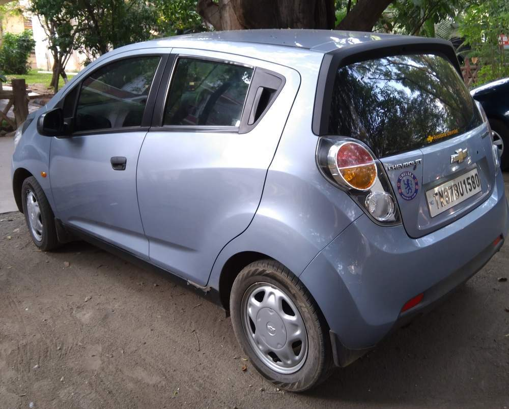 Used Chevrolet Beat 1 2 Ls In Coimbatore 2011 Model India