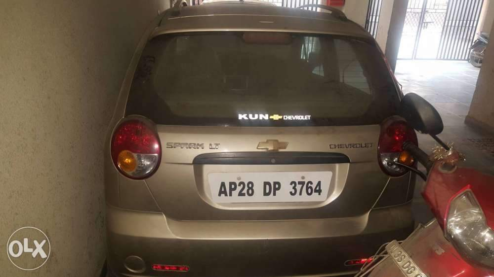Used Chevrolet Spark 10 Lt In Hyderabad 2012 Model India At Best