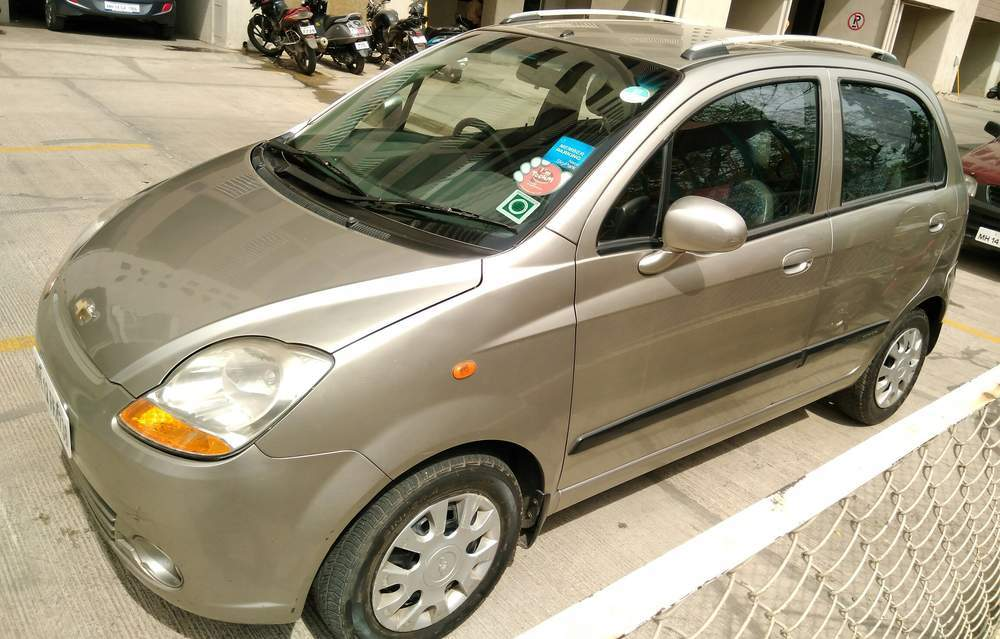Used Chevrolet Spark 1 0 Lt In Pune 2008 Model India At Best Price