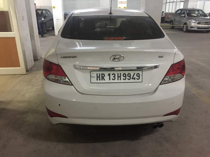 Hyundai Verna Rear Left Rim