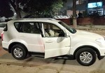 Ssangyong Rexton W Rear Left Side Angle View