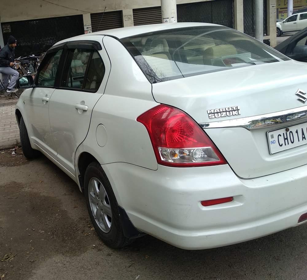 used maruti suzuki swift dzire cars in chandigarh - second hand