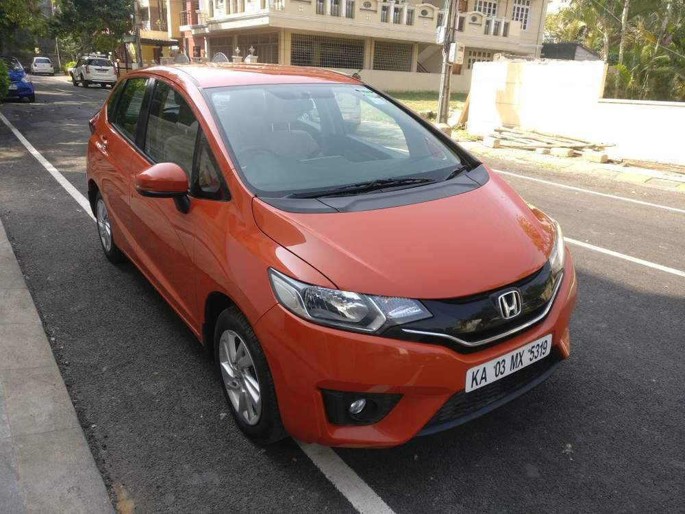 Used Honda Jazz V Mt Petrol In Bangalore 2015 Model India At Best