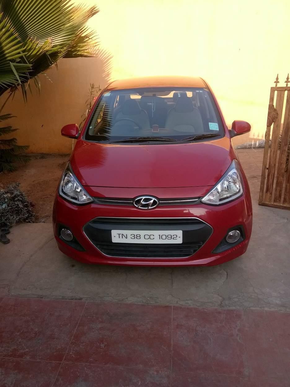 Used Hyundai Xcent S Petrol in Coimbatore 2015 model ...
