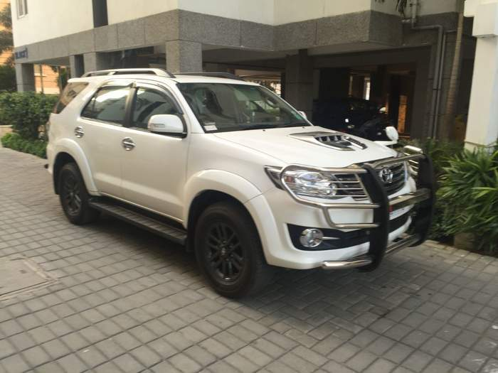Used Toyota Fortuner 3.0 4x2 AT In Chennai 2015 Model