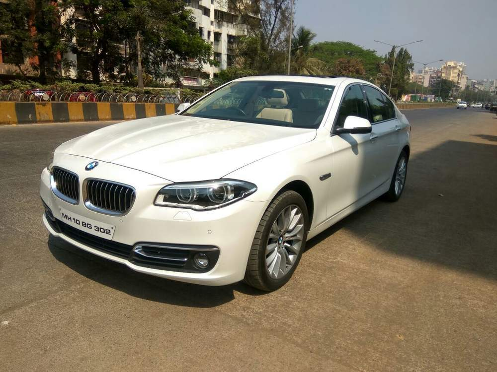 Used Bmw 5 Series 520d Luxury Line In Mumbai 2014 Model India At