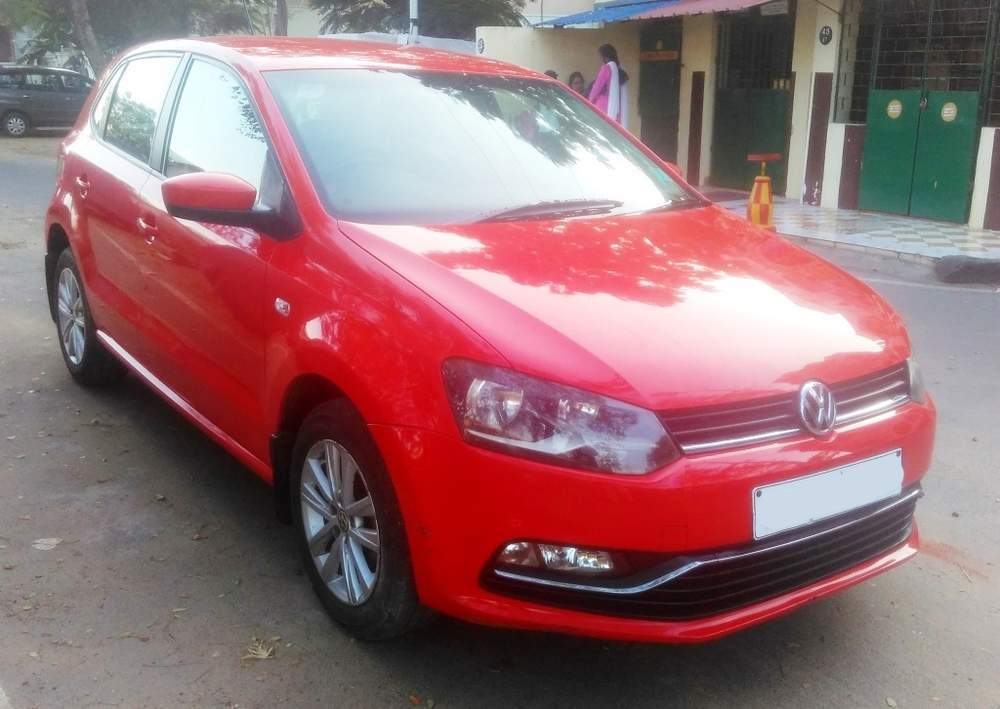 Used Volkswagen Polo 1 2 Highline Petrol In Chennai 2015