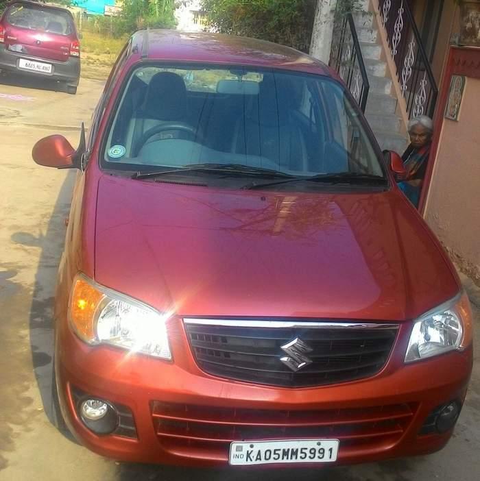 Maruti Alto K10 Price Used Car2016: Used Maruti Suzuki Alto K10 VXI In Hosur 2013 Model, India