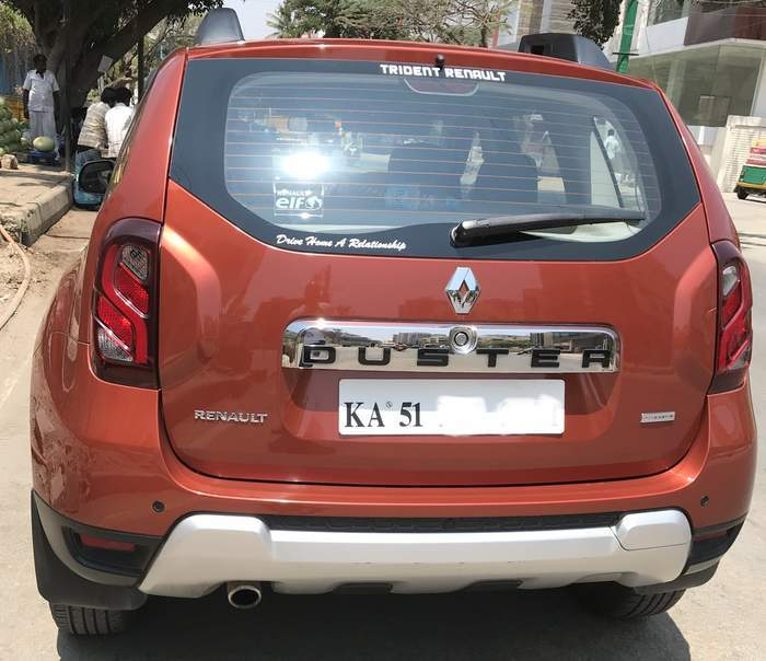 Used Renault Duster Diesel 110PS RXZ AMT In Bangalore 2016