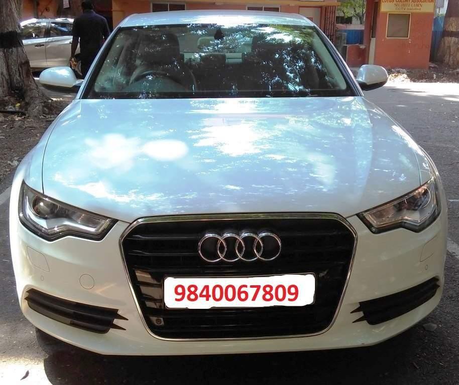 Used Audi A6 2.0 TDI Premium Plus In Chennai 2014 Model